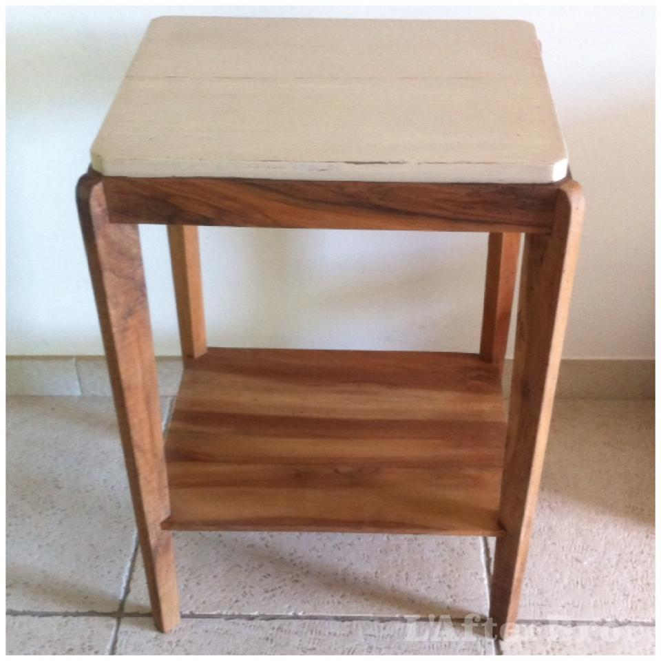 table de chevet retro best table de chevet vintage patine. Black Bedroom Furniture Sets. Home Design Ideas